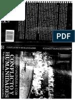 Conflicto y Humanidades, Un Ensayo Sobre Argumentación Jurídica