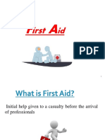 23. First Aid