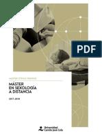 Master Sexologia Online 2017