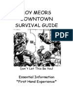Downtown Survival Guide