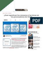 ¿Qué Significan Los Números y Las Letras en Los Procesadores de Intel_ - ComputerHoy.com