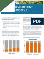 Development Strategy Summary 2015-16
