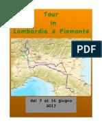 Diario Tour Lombardia e Piemonte