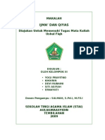 Makalah Ijma' Dan Qiyas