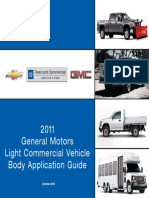 2011 GM Light Commercial Body Application Guide 10-18-2010