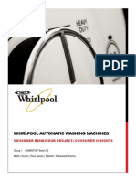 Consumer Profile Project - Whirlpool