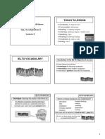 PDF IELTS Obj 5 Lesson 2