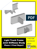 Light Truck Frame Joint Stiffness Study Phase 2 Final Report