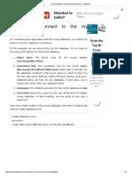 Java Database Connectivity With MySQL - Javatpoint