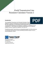 Trans Line Calc Help 2