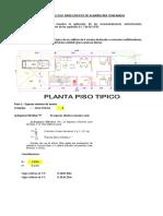 Modelo Para Edificio de Albañileria Exel Modificado