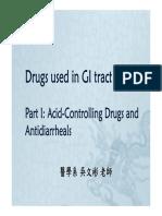 13.Drugs for GI_part I