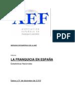La Franquicia en Espana-2010
