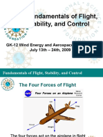 Fundamental of Flight, Stability, And Control