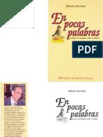 Escobar Alberto en Pocas Palabras