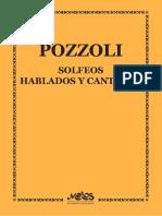 Ettore Pozzoli Solfeos Hablados y Cantados