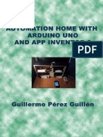 Automation Home With Arduino UNO and APP Inventor 2 by Guillermo Perez