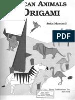 John Montroll - African Animals in Origami.pdf