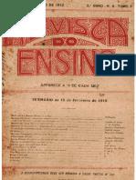 revista Do Ensino, Fevereiro 1912,2º Ano,Nº6