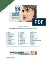 NINO BRAVO-Todas Las Letras de Las Canciones de Nino Bravo