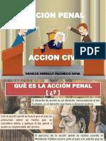 Accion Penal y Accion Civil