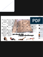 30 Day Ab Challenge for Those Who Need Some Motivation Like Me