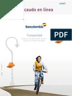 Manual Recaudo en Linea Bancolombia