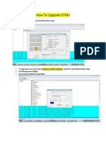 Process of Upgrading GTMU
