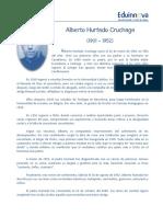 02a Texto Impreso - Biografía Padre Hurtado - Biografía