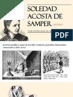 Unidad 5 Soledad Acosta de Samper - Michelle Yepes