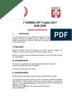 Bases I Torneo IRT de Trujillo 2017