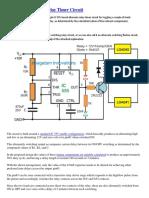 Alternate Switching Relay Timer Circuit