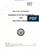 Mil Std 1333b(Aircrew Station Geometry)