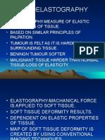 Sonoelastography ppt