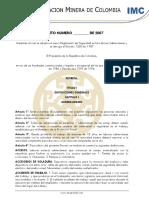 20070827 Proyecto de Reforma Al Decreto 1335 de 1987