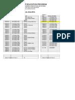 OLFSSVP Education Program Calendar 2017 Amended