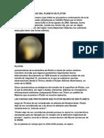 Las Caracteristicas Del Planeta de Pluton