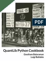 Quantlib python cookbook Sample