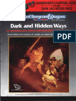 TSR 2019S - Dungeoneers Survival Guide - Dark and Hidden Ways set.pdf