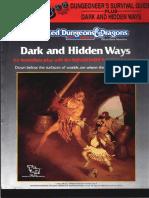 TSR 2019S - Dungeoneers Survival Guide - Dark and Hidden Ways set.pdf
