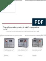 Centrală Termică Cu Mașini de Gătit Încorporată Cu Cuptor – Senko Mașini de Gătit, Aragazuri Și Șeminee