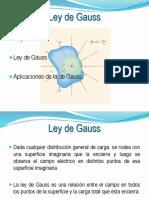 Diapositiva Ley de Gauss