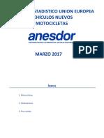 2017 Matriculaciones Europa