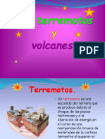 Los Terremotos y Los Volcanes