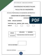 ENLACE QUIMICO - LABO4