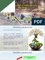 Unidad 1. Generalidades de Biologia