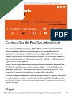 Pacifico Colombia Mapas Del Pacífico Colombiano - Pacifico Colombia