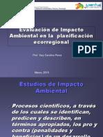UNIDAD III Evaluación de Impacto Ambiental en La Planificacion Ecooregional