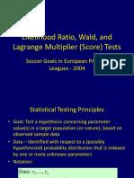 Tests Goals