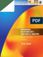 Programas de Estudio 2011 - 3ro. Primaria
